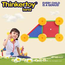 Promocional inflable DIY patrón bloquea juguetes de Eductional