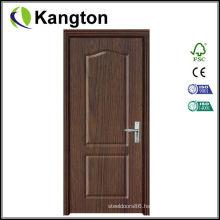 New Design Interior PVC Coated MDF Wooden Doors (PVC door)