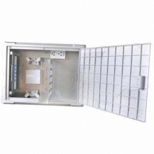 Caixa de informação montada na parede FTTH para o interior, cabo de descarga