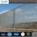 Powder Coated Wire Mesh Fence med Folds