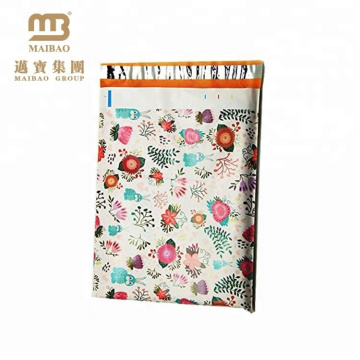 China Manufacturers Custom Printed Online Shop Waterproof Clothing Package Plastic Mailing Courier Postage Bag