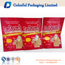 Recyclable aluminum foil food packaging biscuit sachet with back seal