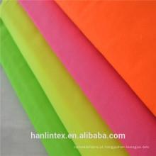 Tecido liso TC 90/10 96X72 Tecido de bolso Tecido de revestimento