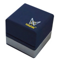 Custom jewelry packaging with stamping logo ring box