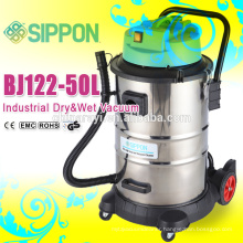 competitive stainless steel tank industrial wet&dry vacuum cleaner BJ122-1200W-60L