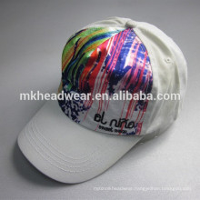 children 5 panel short peak colorful sport cap