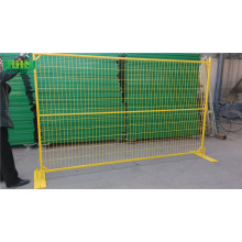 Canada popular galvanized Temporary Fence for residentional
