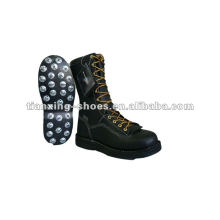 spiked Logger Boots