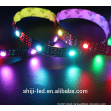 Flexible addressable rgb 5v dmx Digital led strip ws2801 for building decoration