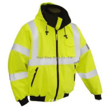 100% polyester knitted fabric reflective safety coverall