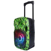 Portable mini bluetooth speaker with fm radio