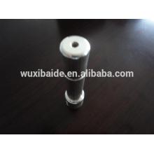 Kundenspezifische versilberte Teile / cnc bearbeitete silever überzogene Teile, versilberte cnc Teile, kundenspezifische versilberte Stahlteile