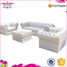 Big Seller White Chesterfield Sofa Qingdao Sinofur Furniture Sofa
