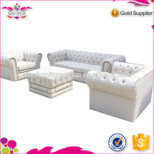 Big Seller White Chesterfield Sofa Qingdao Sinofur Furniture Sofa