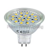 3W MR16 LED con amplio voltaje 8-24V