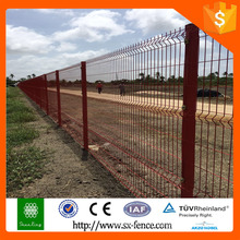 Красный цвет скота железный забор неттинг
