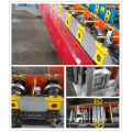 Storage rack upright shelf frame roll forming machine