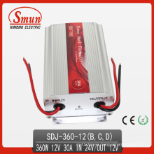 360W Power Converter, 24V-12V 30A DC-DC Step Down Inverter