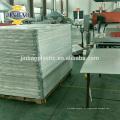 JINBAO publicidade barato pp placa de corte folha de plástico 2-12mm