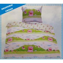 Capa de edredão de algodão para cama de bebé (conjunto)