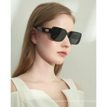 Оптовые 2021 новые модные дизайнерские солнцезащитные очки унисекс в стиле ретро черного оттенка
