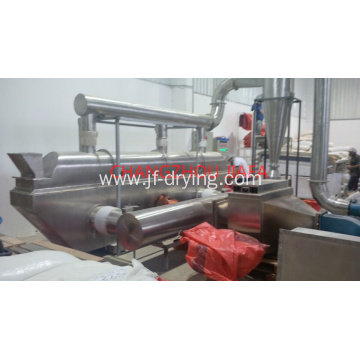 Continues vibration fluid bed dryer machine