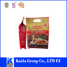 Factory price frozen food packaging bag for fish seafood vegetables