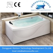 Professional for single side apron tub Freestanding seamed acrylic bathtubs supply to Indonesia Exporter