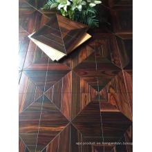Never Simple Style Indonesia Rosewood con pisos de parquet de flores