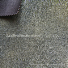 Eco-Friendly Breathable PU Furniture Leather (QDL-FB0054)