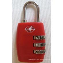Tsa combinación de candado bloqueo de código bloqueo de contraseña (tsa335)