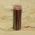 lápiz barato de madera del color 48 de la etiqueta privada