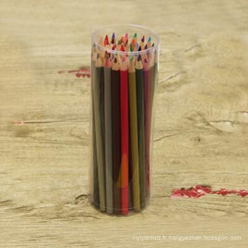 crayon de couleur en bois 48