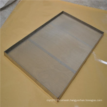 Welded Stainless Steel Mesh Baking Tray