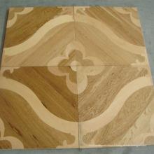 Plancher de bois d'ingénierie parquet chêne mosaïque