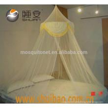 SHUIBAO Tassels Macrame 100% poliéster Mosquito Net