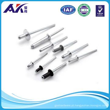 DIN7337 Alumínio, aço inoxidável, aço rebite cego