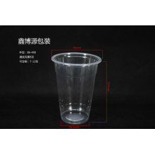Clear Plastic Drinking Cup with Dome Lid