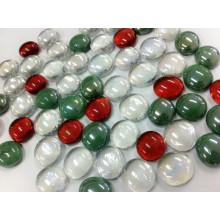 Conception de marbre en verre plat de Noël