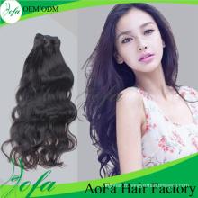 Extension Naturelle De Cheveux Humains De Cheveux De Vague De Grade De 7A