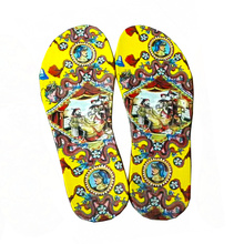 Custom Colorful Flower Butterfly EVA transfer pinting for Clog Shoes Sandals Beach Slip-on Slippers