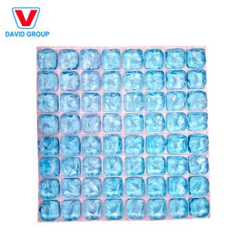 Células de gelo cortáveis em 3D com 64 células / Esteira de gelo flexível / Gel de gelo reutilizável