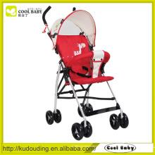 Abnehmbarer Kissen Baby Buggy, Baby Puppe Kinderwagen mit Autositz, Rad für Baby Kinderwagen