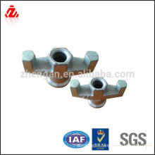 Steel Building Material Formwork tie rod wing nut