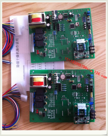 Drying dehumidifier PCB for dehumidifiers