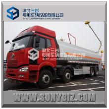 FAW 8X4 30000L Dispensador de aceite Camión cisterna