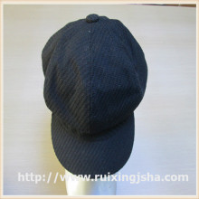 Women wool felt cap