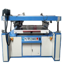 Plane silk screen printing machine for cardboard