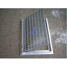 Подтверждено стандартом ISO слив Крышка стальные решетки лестницы