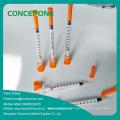 Insulin Syringe with Ultra Fine Needle 0.5ml/1ml